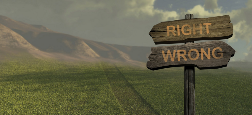 right and wrong - Nehemiah E-Community