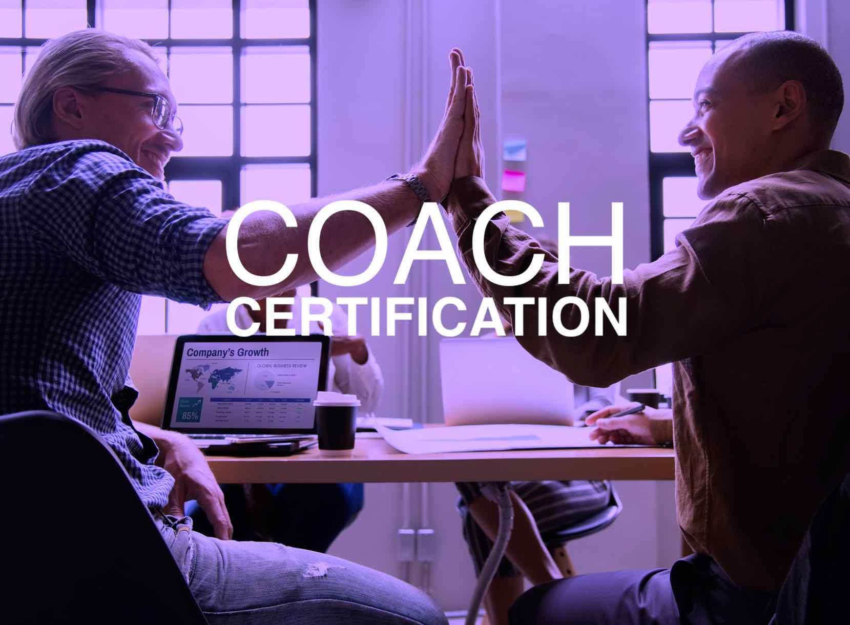 coach cert pic - Nehemiah E-Community