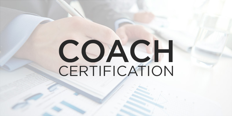 coach cert over - Nehemiah E-Community