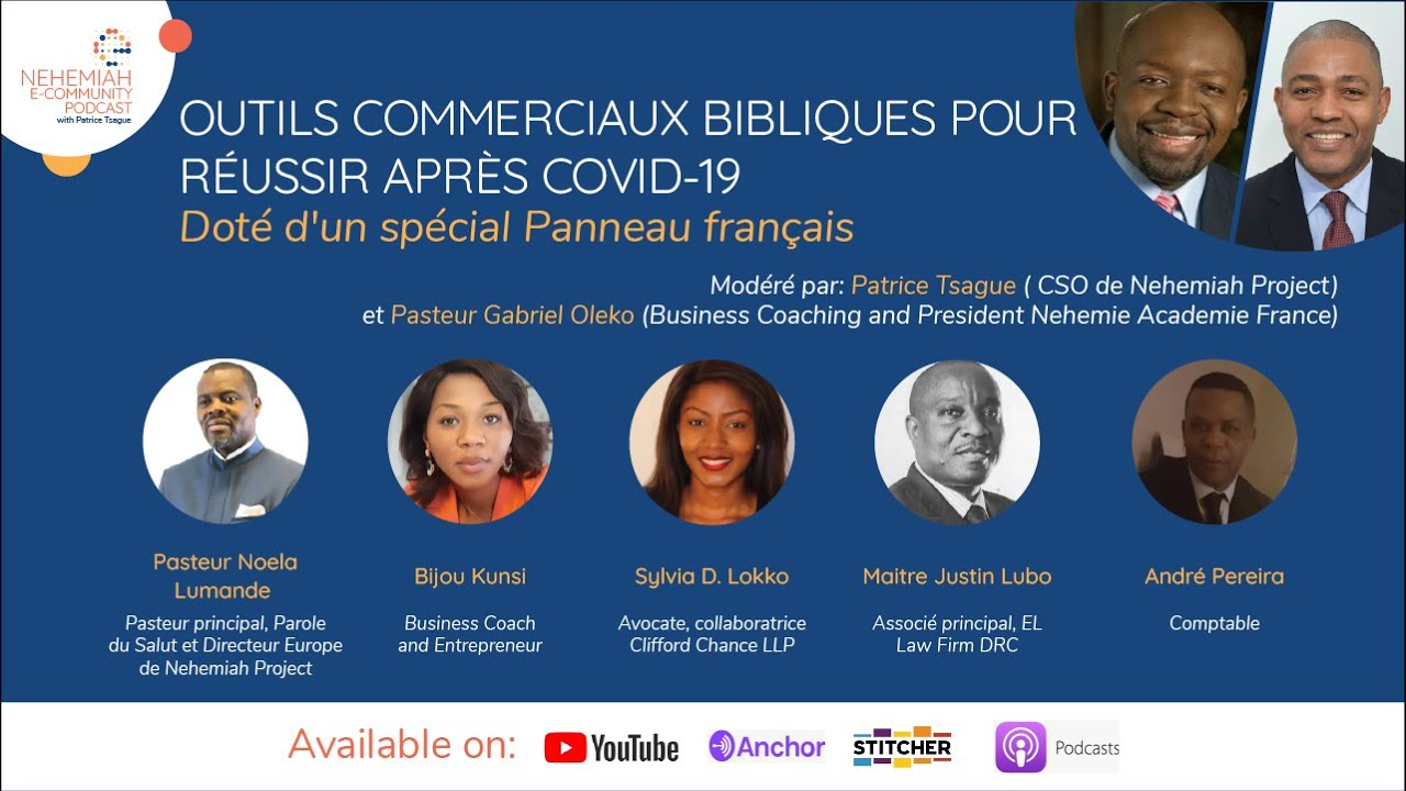 Biblical business tools for Success French Forum