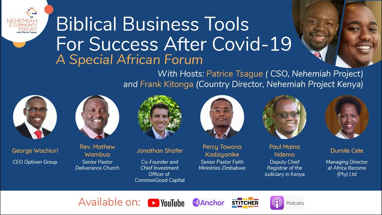 Biblical business tools for Success African Forum
