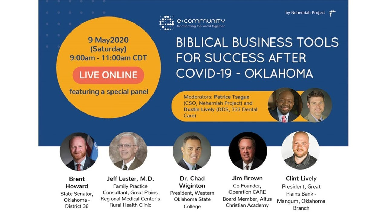 Business Tools for Success after Covid 19 Oklahoma