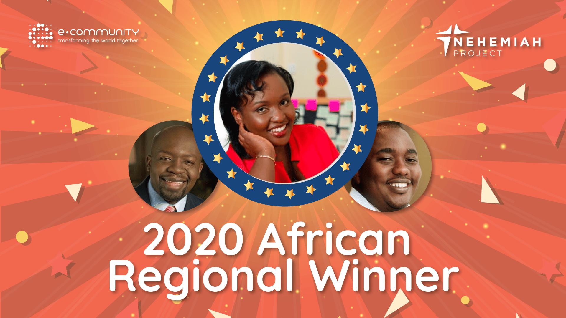 2020 Africa Regional Winner