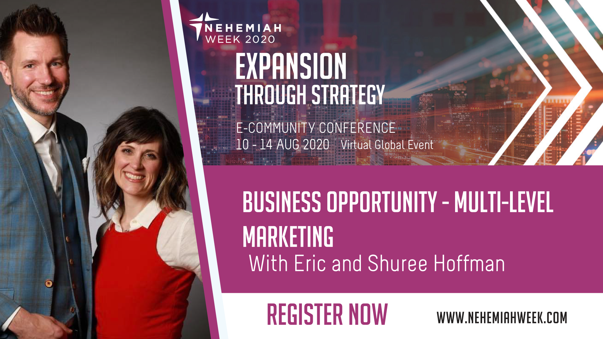 Business Opportunity Multi Level Marketing with Eric and Shuree Hoffman