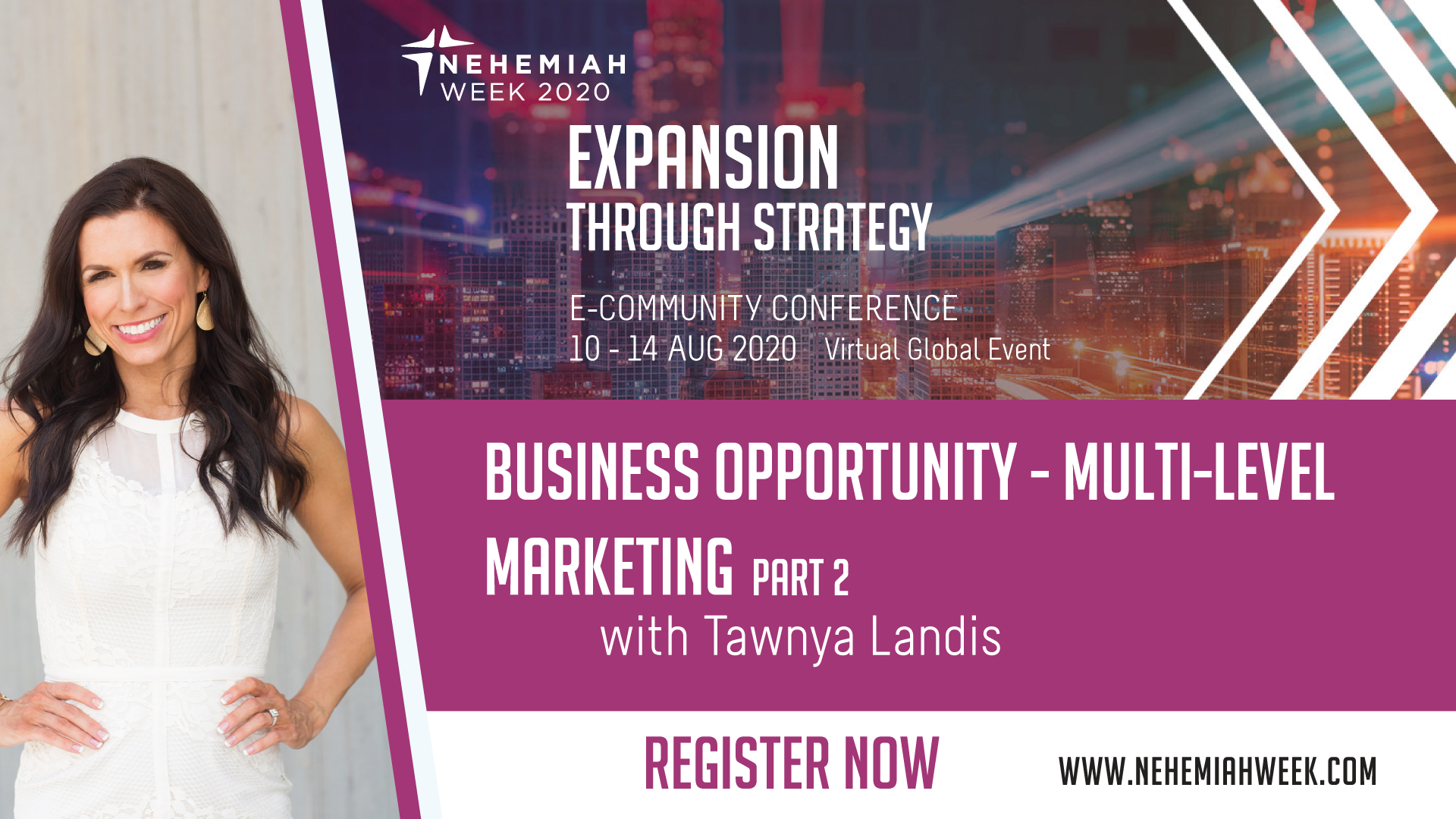 Business Opportunity Multi Level Marketing Part II with Tawnya Landis