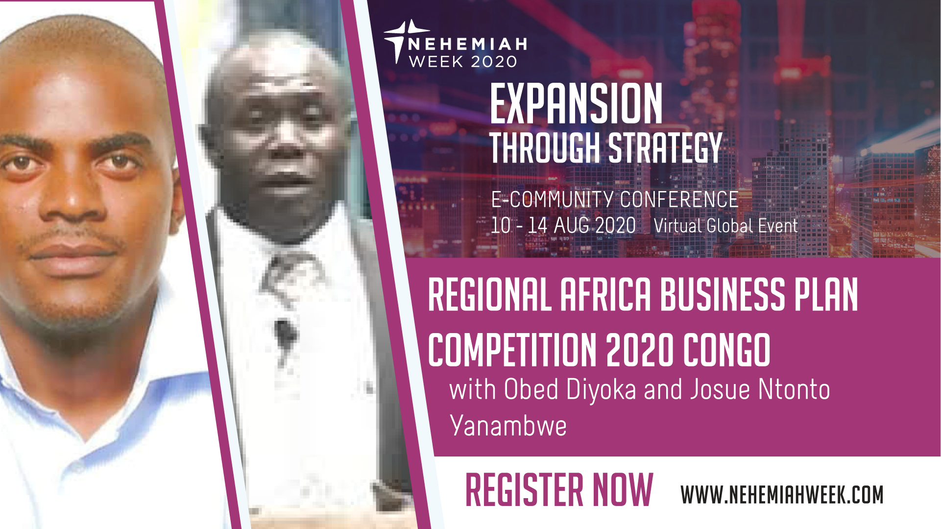 Regional Africa Business Plan Competition 2020 Congo with Obed Diyoka and Josue Ntonto Yanambwe
