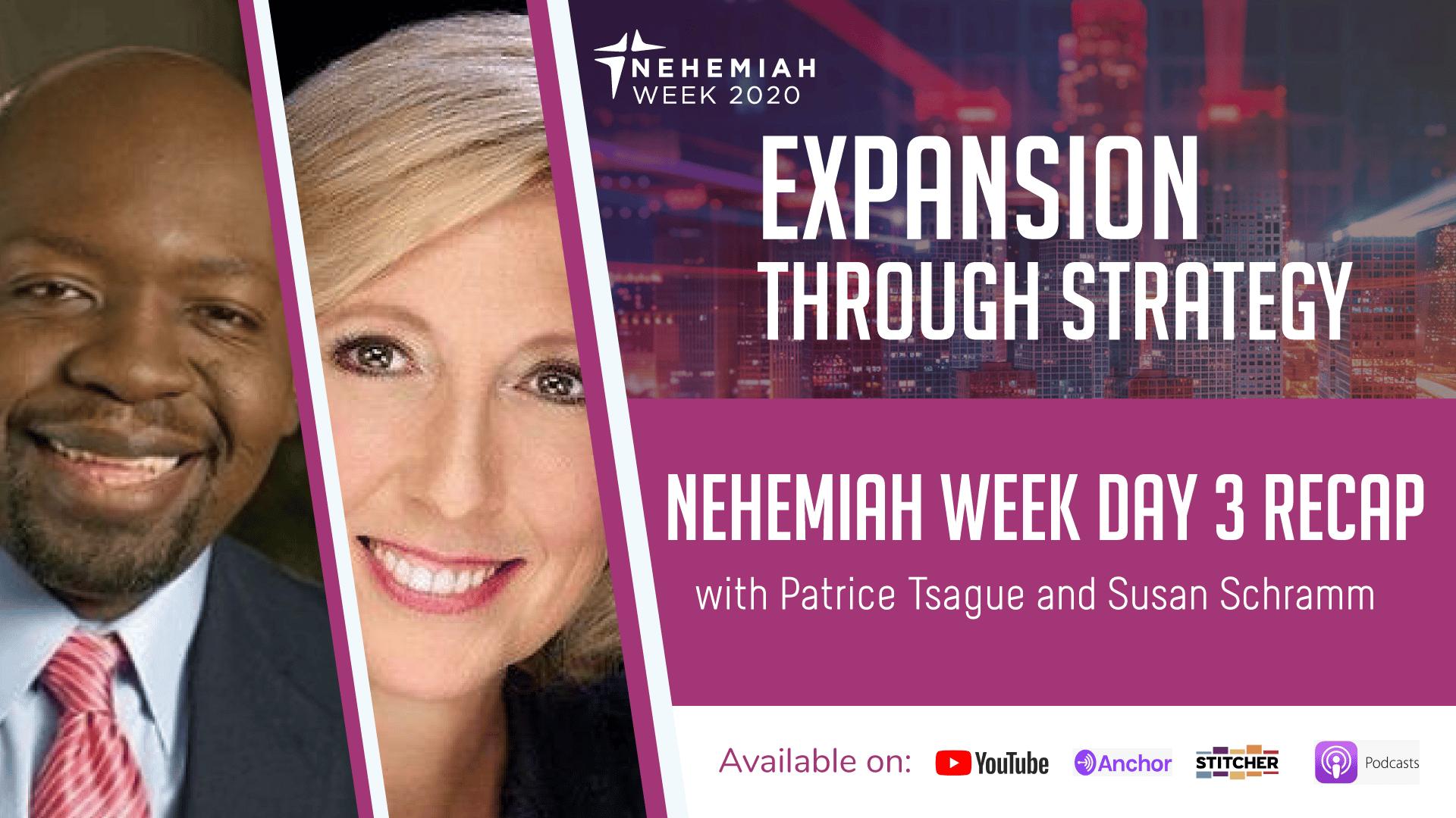 Nehemiah week Day 3 Recap