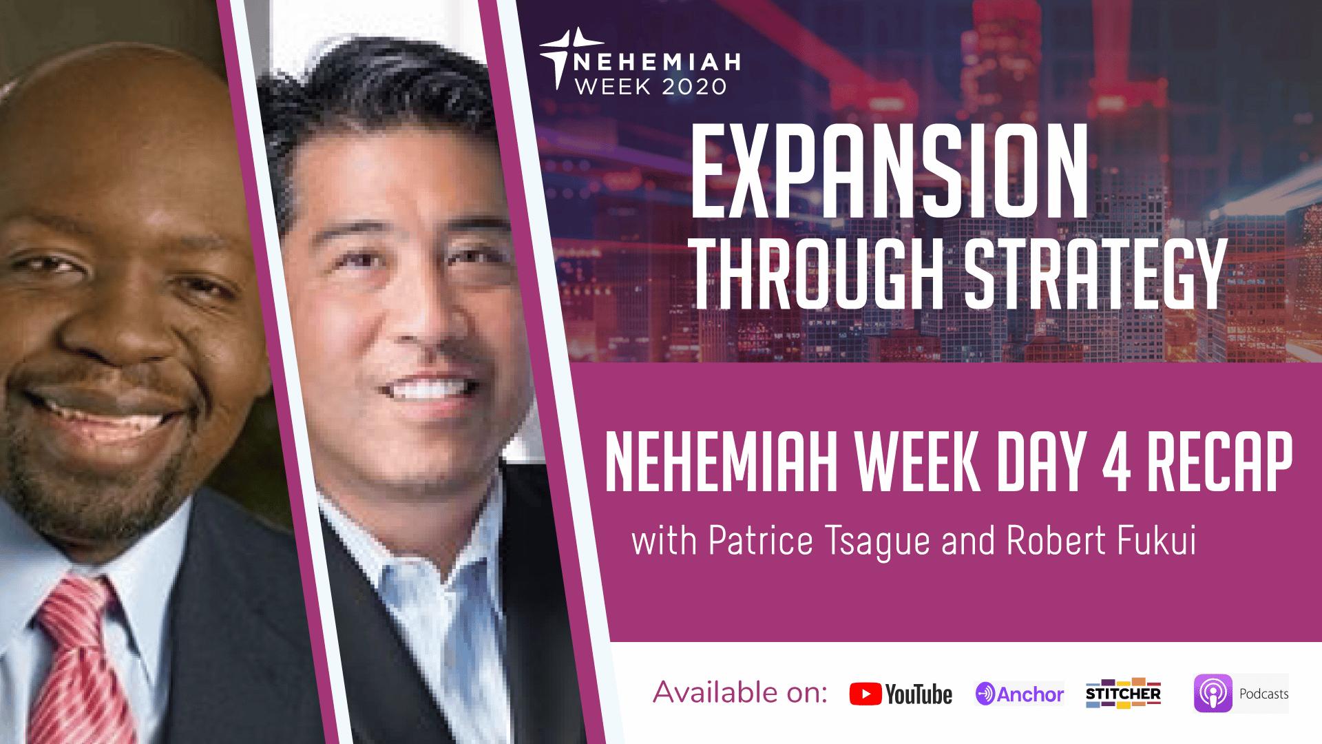 Nehemiah week Day 4 Recap