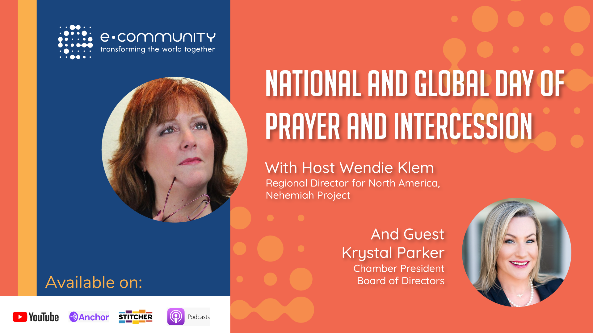 National and Global Day of Prayer and Intercession