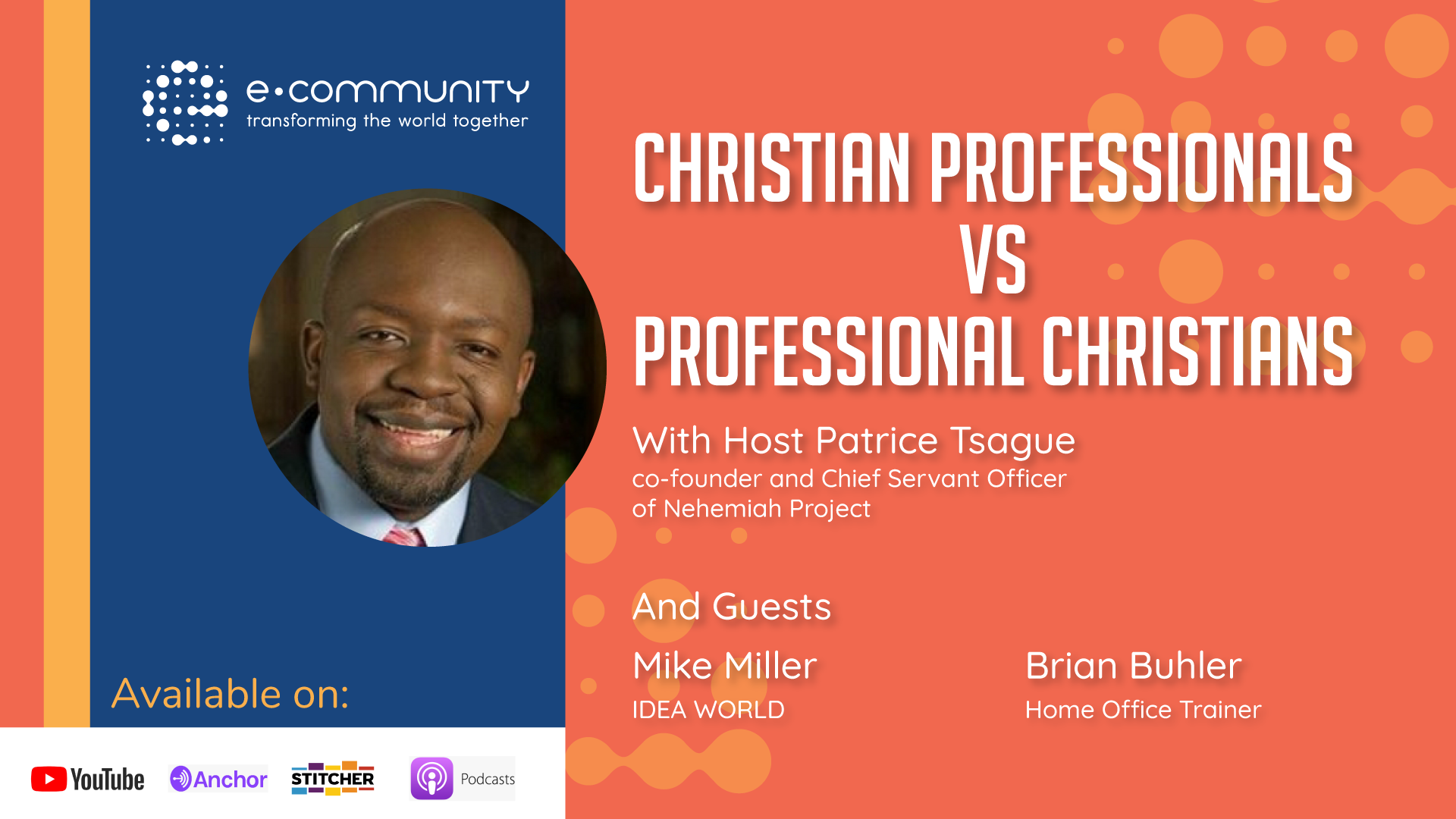 Christian Professionals vs Professional Christians