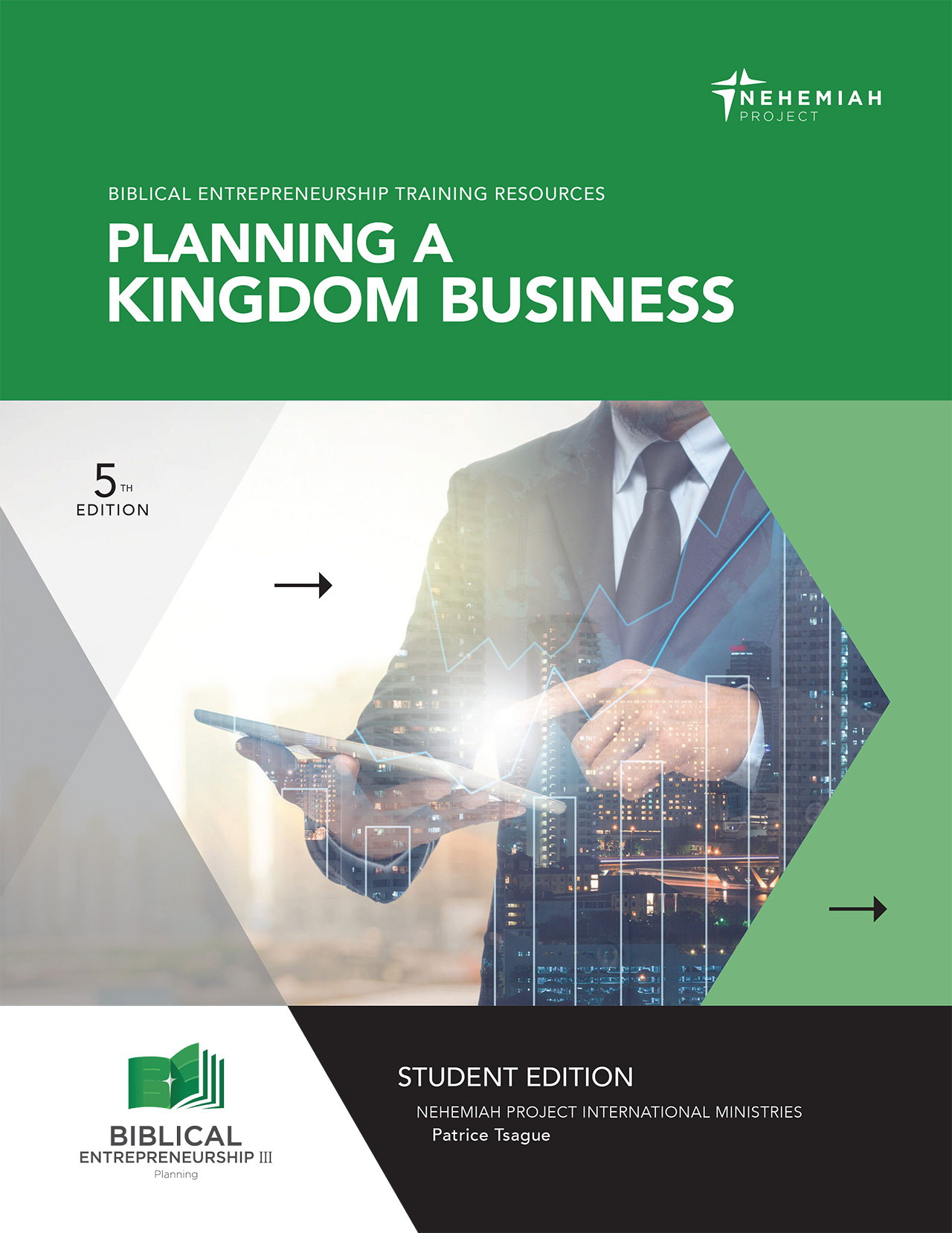 Planning a Kingdom Business cover - Nehemiah E-Community