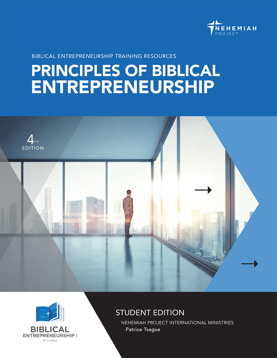 Principles of BE cover - Nehemiah E-Community