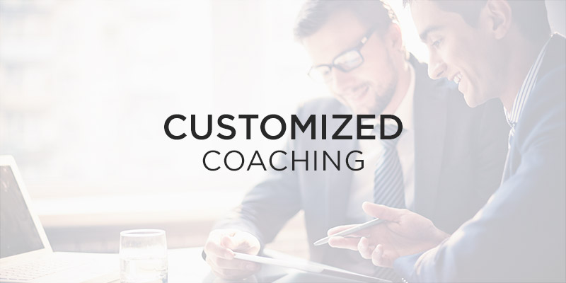 customized coaching over - Nehemiah E-Community