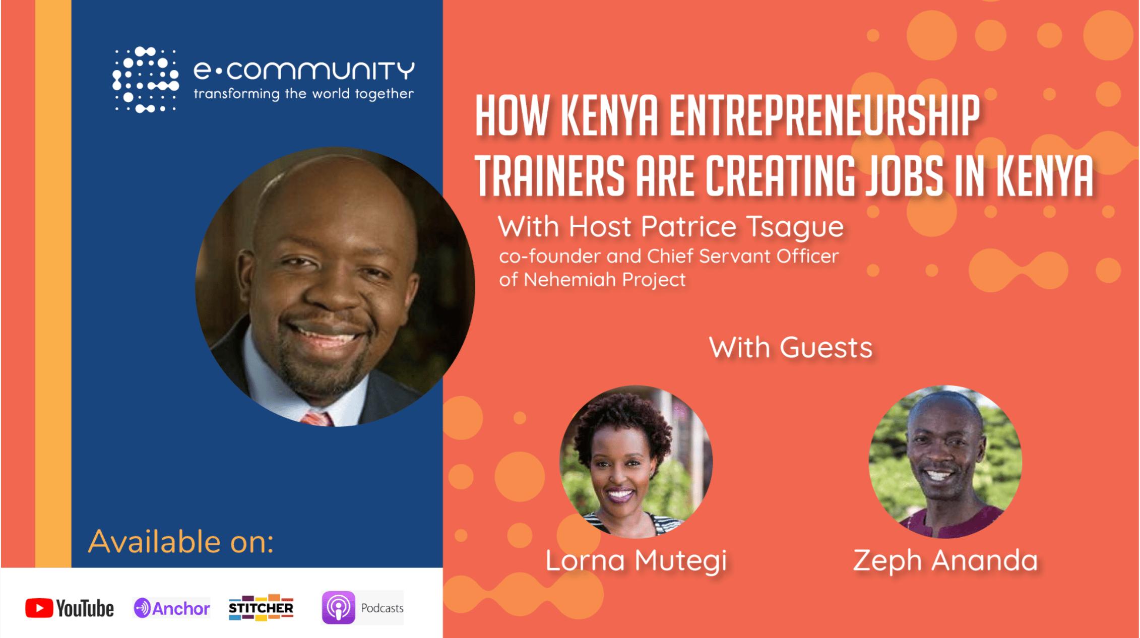 How Entrepreneurship Trainers are Creating Jobs in Kenya.