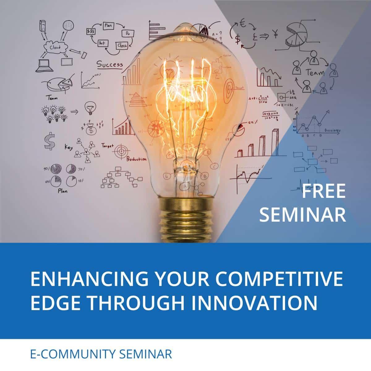 Enhancing Your Competitive Edge through Innovation - Nehemiah E-Community