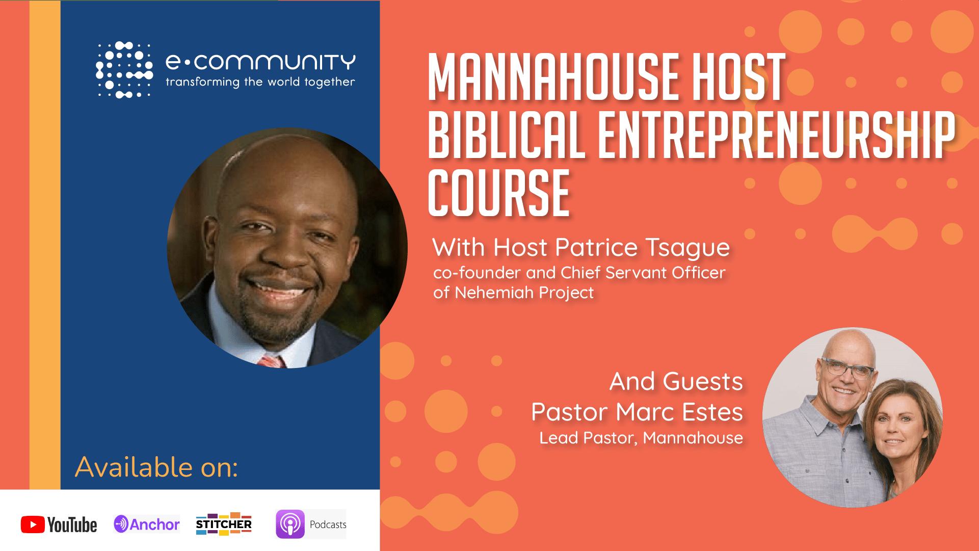 MannaHouse host Biblical Entrepreneurship Course