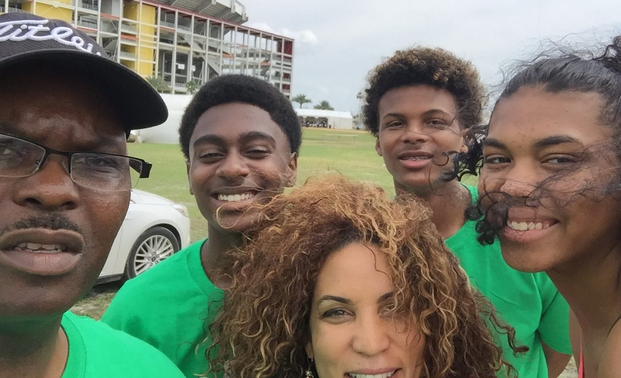 Golf for Change and Charles Kearse