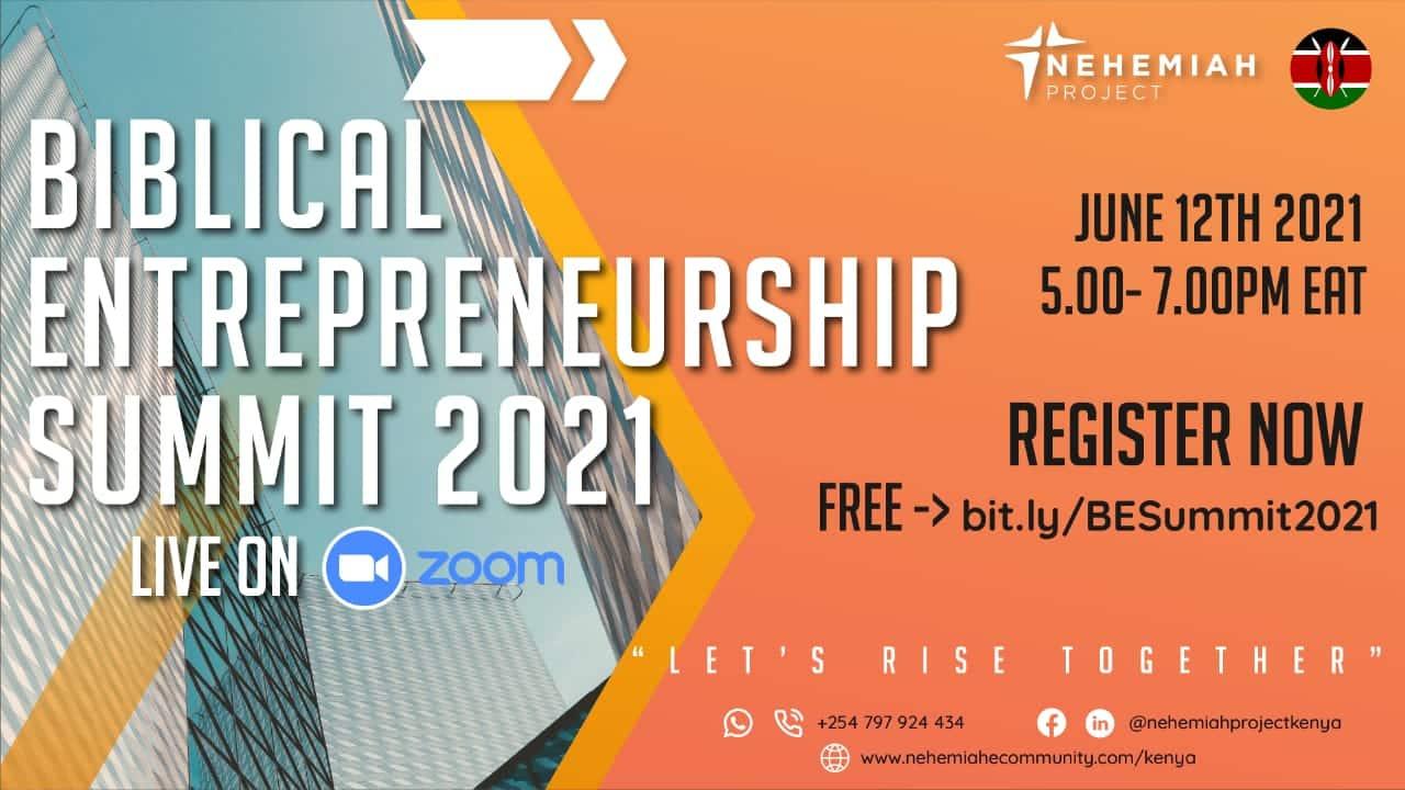 kenya be summit june2021 - Nehemiah E-Community