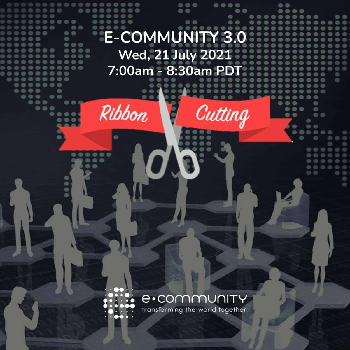 ec3.0 ribbon cutting - Nehemiah E-Community