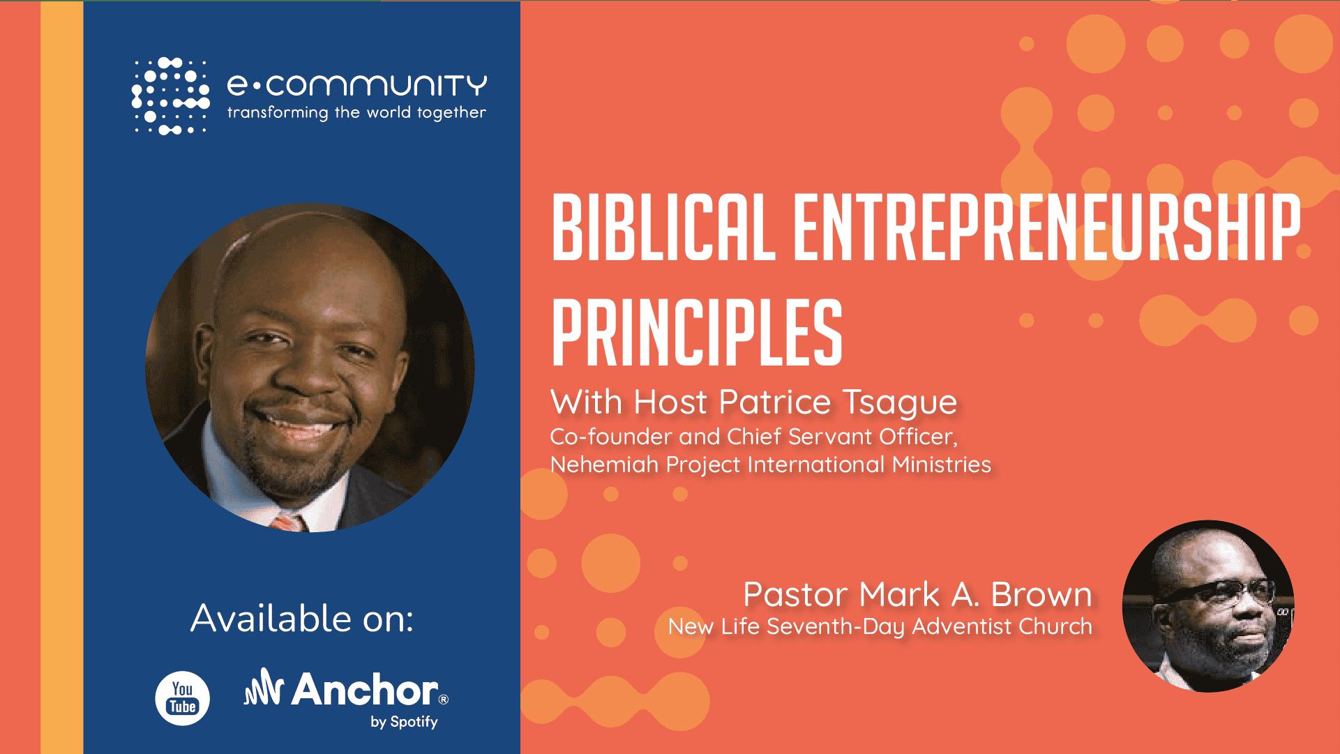 Biblical Entrepreneurship