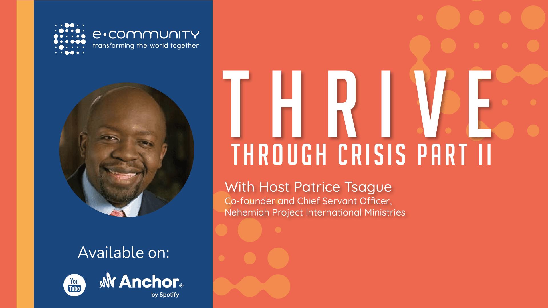 THRIVE Through Crisis Part II
